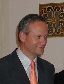 Jefe de la diplomacia checa, Cyril Svoboda
