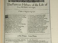 Edition originale publiée en 1623, édition fac-similé Norton publiée en 1996, photo: Cowardly Lion, public domain