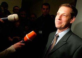 Primer ministro checo, Stanislav Gross (Foto: CTK)