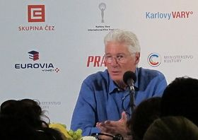 Richard Gere, photo: Kristýna Maková, Czech Radio - Radio Prague