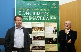 El Auditorio de Zaragoza albergará durante la XXI Temporada de Grandes Conciertos de Primavera actuaciones como la Orquesta Filarmónica Checa y la Sinfónica de Radio Viena, foto: Archivo del ayuntamiento de Zaragoza