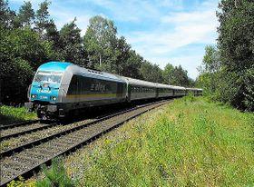Eisenbahnverbindung zwischen München und Prag (Foto: Marcel Lober)