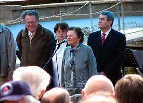 Jiřina Švorcová (uprostřed), foto: Barbora Němcová