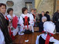 Fiesta folclórica de los compatriotas checos en Ucrania, Lvov (Foto: Milena Štráfeldová)