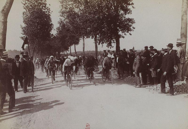 «Тур де Франс» 1903, фото: Jules Beau, открытый источник