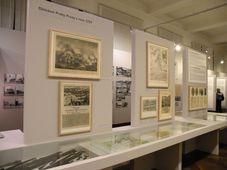 """Ausstellung """"Strašnice: der Garten Prags, das Tor für Armeen"""" (Foto: Martina Schneibergová)"""