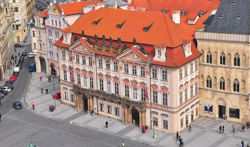 Le Palais Kinský, photo: W.Rebel CC BY 3.0