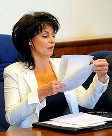 Renata Vesecká, photo: CTK