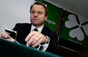 Líder del Partido de los Verdes, Martin Bursík (Foto: CTK)