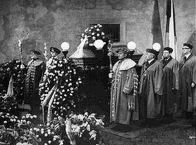 Funerales de Jan Palach en Carolinum