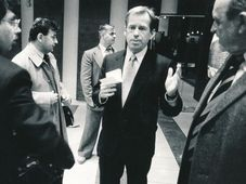Václav Havel, photo: Radan Boček, Post Bellum