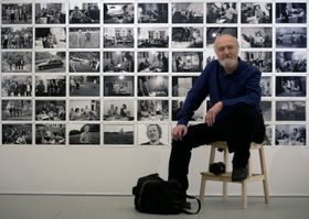La vida de Václav Havel en fotografías de Bohdan Holomíček, foto: ČTK