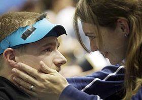 Matthew and Kateřina Emmons, photo: CTK