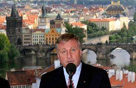 Primer ministro checo, Mirek Topolánek (Foto: CTK)