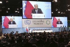 Weltklimakonferenz in Katowice (Foto: ČTK / AP / Czarek Sokolowski)