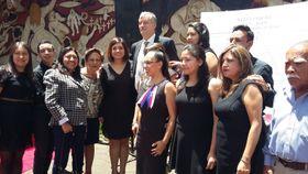 Pietní akt vmexických Lidicích, foto: archiv Edny Gómez Ruiz