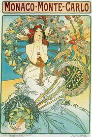 Plakát od Alfonse Muchy