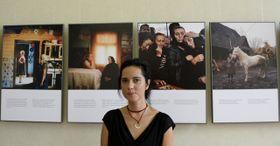 Rena Effendi y sus fotos de Rumania (Foto: ČTK)