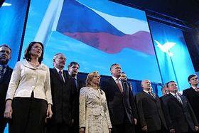 Campaña electoral del Partido Cívico Democrático (Foto: CTK)