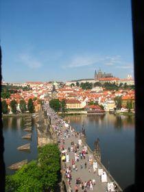 The view from the Old Town Bridge Tower, photo: Štěpánka Budková