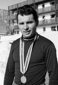 Йиржи Рашка на зимних олимпийских играх 1968 г. в Гренобле (Фото: ЧТК)