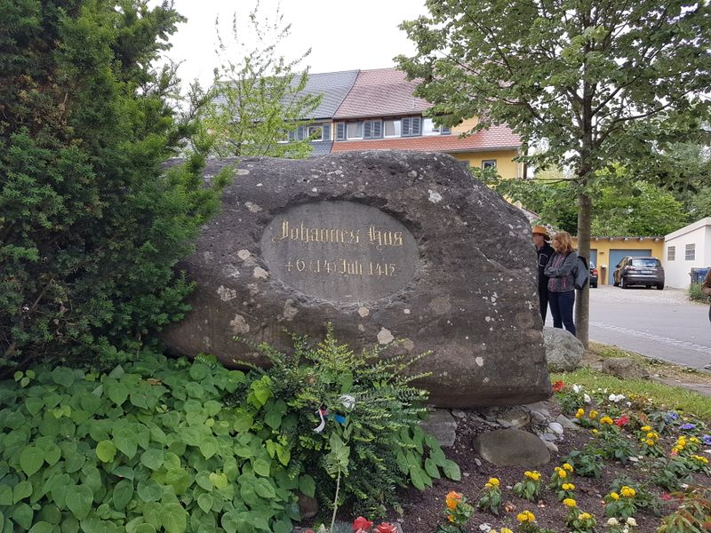 Husův kámen vKostnici, foto: Katka Brezovská