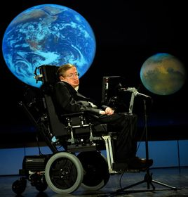 Stephen Hawking, photo: NASA/Paul Alers, Public Domain