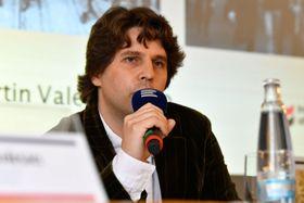 Martin Valenta, photo: Khalil Baalbaki, ČRo