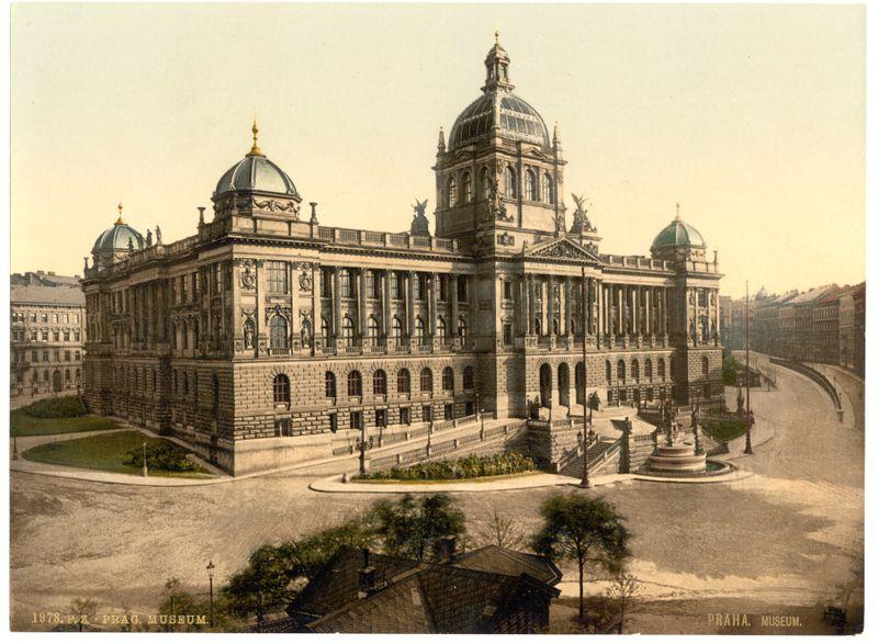 Le Musée national entre 1890-1900