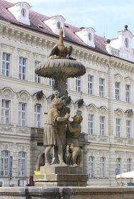 La fuente de Wimmer en Praga, foto: Las Fuentes de Praga