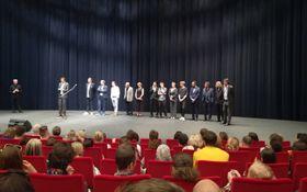 Delegation zum Film Lara (Foto: Markéta Kachlíková)