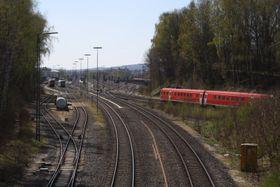 Bahnstrecke Marktredwitz-Cheb (Foto: Roehrensee, Wikimedia Commons, CC BY-SA 4.0)