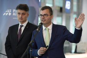 Йиржи Свобода и Вацлав Ржегорж, фото: ЧТК/Демл Ондржей