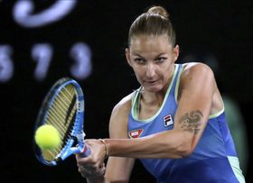 Karolína Plíšková (Foto: ČTK / AP /Dita Alangkara)