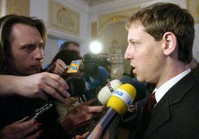 Primer Ministro checo y presidente del Partido Socialdemócrata, Stanislav Gross (Foto: CTK)