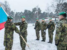 Les soldats tchèques en Lettonie, photo: Site officiel de l'Armée tchèque