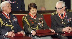 Emil Boček, Marie Ljalková-Lastovecká and Jan Plovajko, photo: CTK