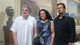 José Cura, Kristina Kolar und Martin Bárta (Foto: Martina Schneibergová)