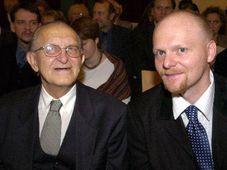 Dusan Zbavitel y Pavel Brycz (dra.), foto: CTK