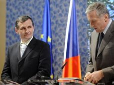 Jiří Čunek (left), Mirek Topolánek, photo: CTK