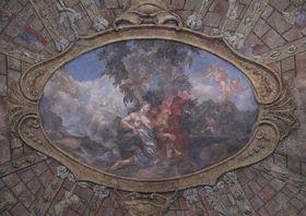 Венера и Адонис на фреске салы террены, Фото: Juan de Vojníkov, CC BY-SA 3.0