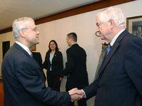 Vladimir Spidla et Frederick Bolkestein, photo: CTK