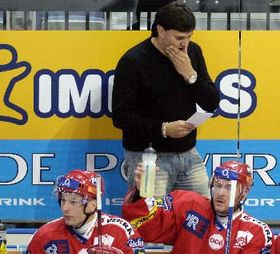 Coach Vladimir Ruzicka, photo: CTK