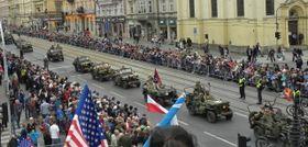 Les fêtes de la libération à Plzeň, photo: ČTK