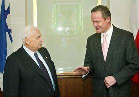 Цирил Свобода (направо) в Израиле (Фото: ЧТК)