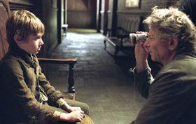 Roman Polanski filming Oliver Twist