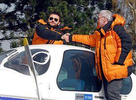 Richard Santus et Petr Bold, photo: CTK