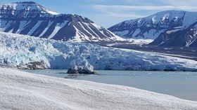 Ледники Арктики, Фото: Романа Лехманова, Чешское радио
