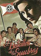 Lída Baarová en la película 'El Batallón de las Sombras' (1957)