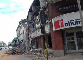 Un terremoto en Concepción, foto: YouTube